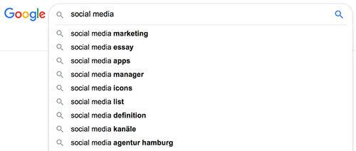 Suchmaschinen und Social Media